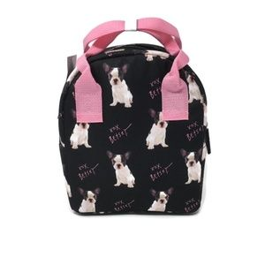 Betsey Johnson Bags - Betsey Johnson I French Bulldog Lunch Tote